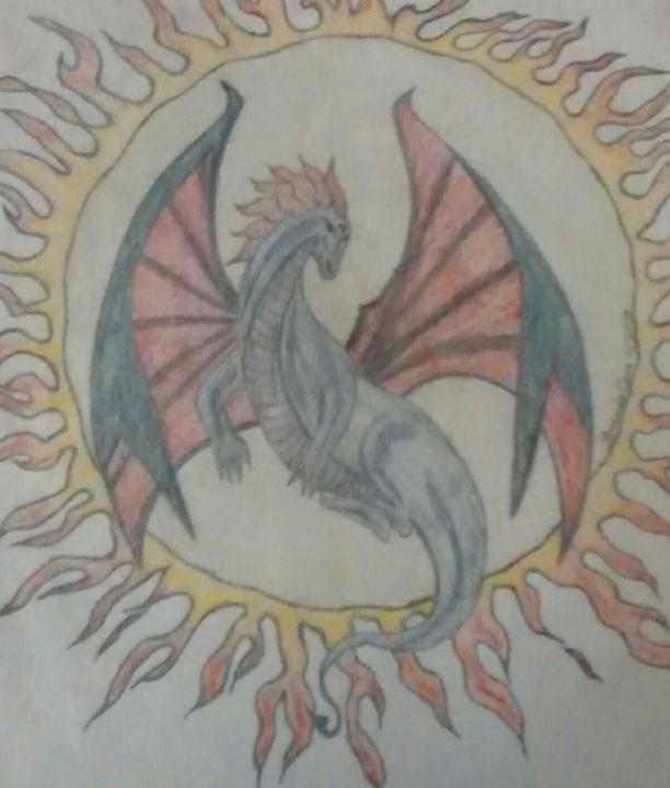 Dragon - Acorn Art