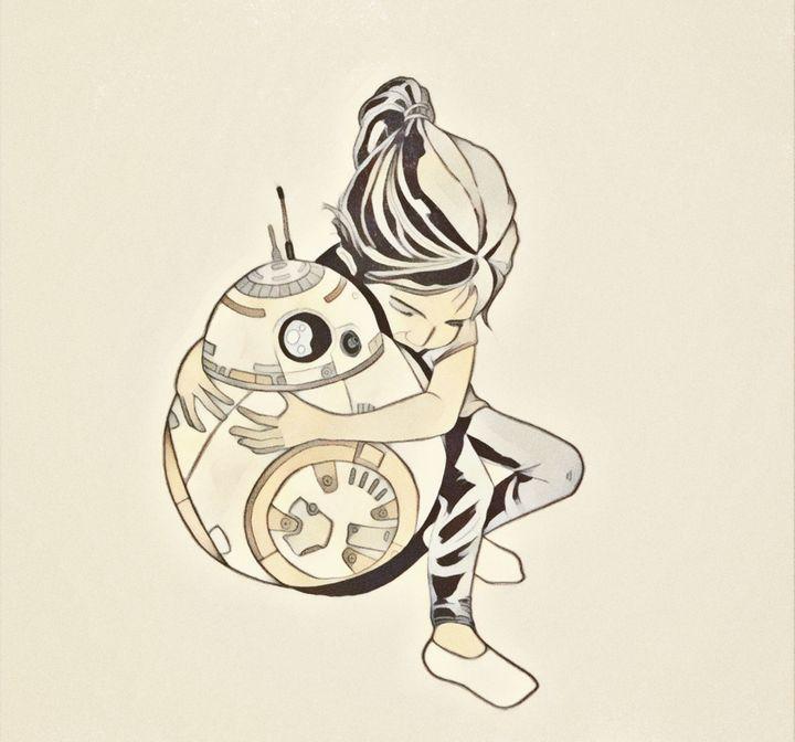 A New Hope - Art of Eric Pabon