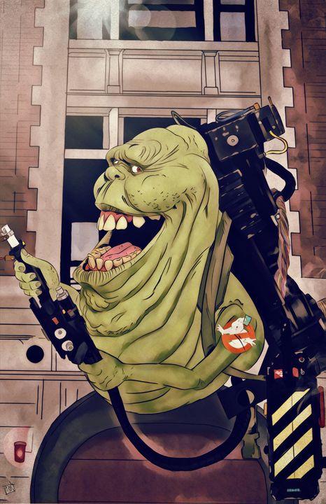 Green Ghost - Art of Eric Pabon