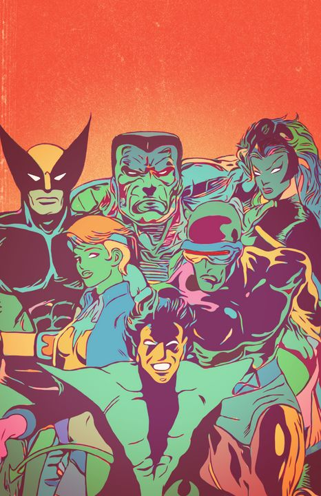 X-Men Arcade - Art of Eric Pabon