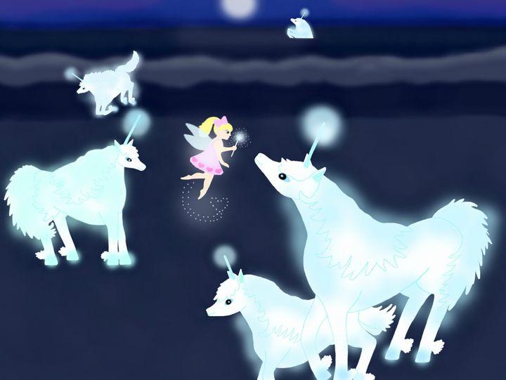 """The Atlantian Unicorns"" - Shelli Misoyianis"