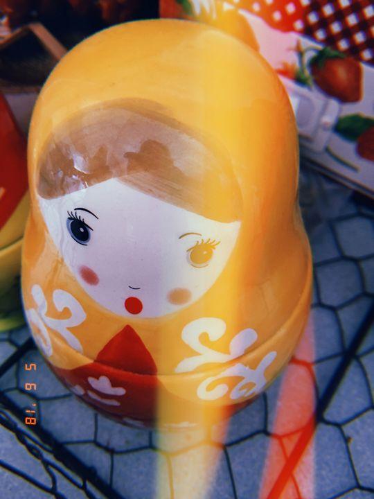 Kitchen Nesting Doll Photo - Huckleberry Hobby