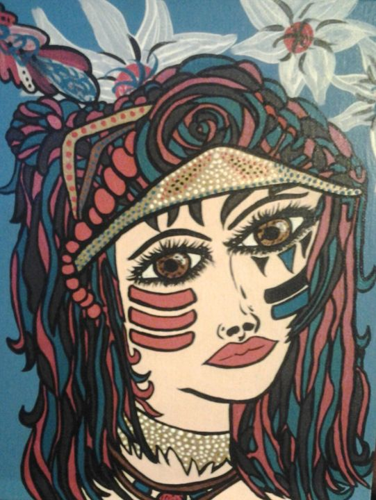Native girl - 32tiawhite