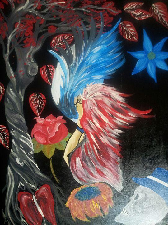 She bird - 32tiawhite