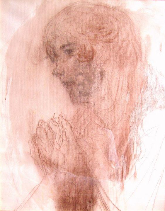 praying christ - Ichiro's-Gallery