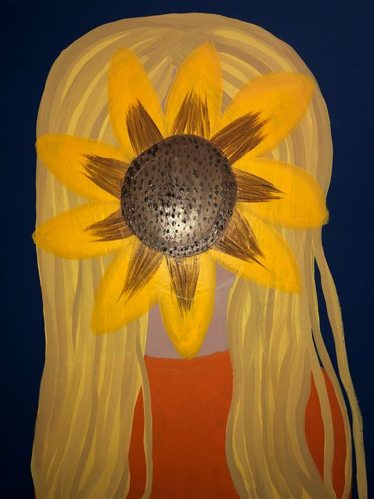 Hannah's Sunflower - Patricia Burton