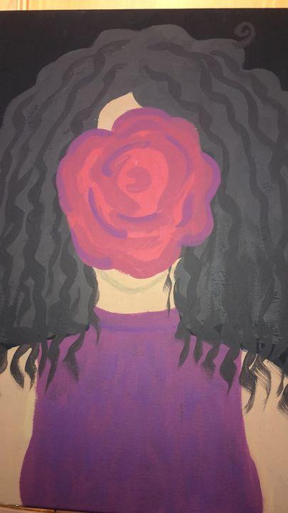 Patricia's Rose; Self Portrait - Patricia Burton