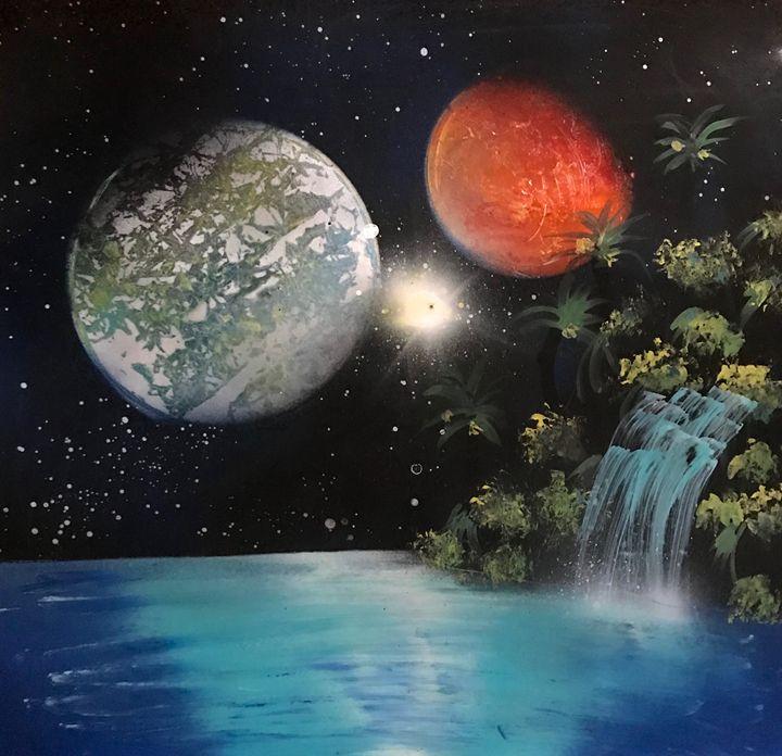 Galaxy Oasis - Rylee & Noah