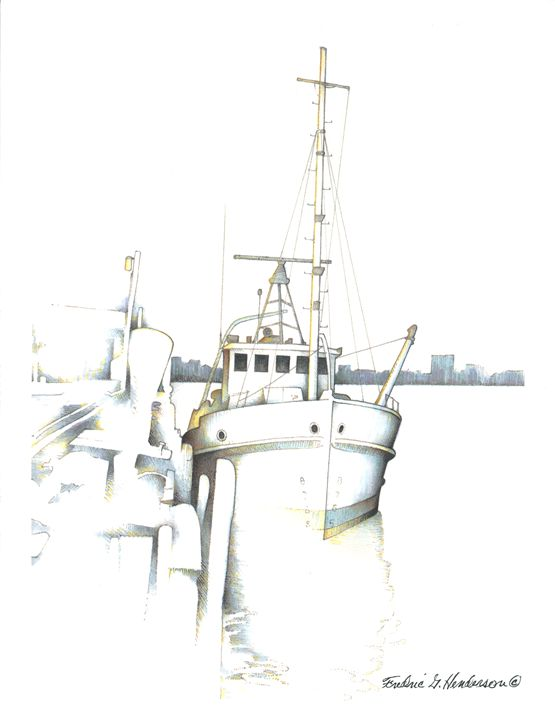 Tugboat Downtime - RicArtt