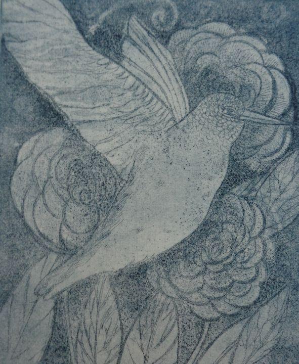 Hummingbirds - Aneliya Art