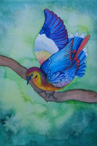Pigeon - Aneliya Art