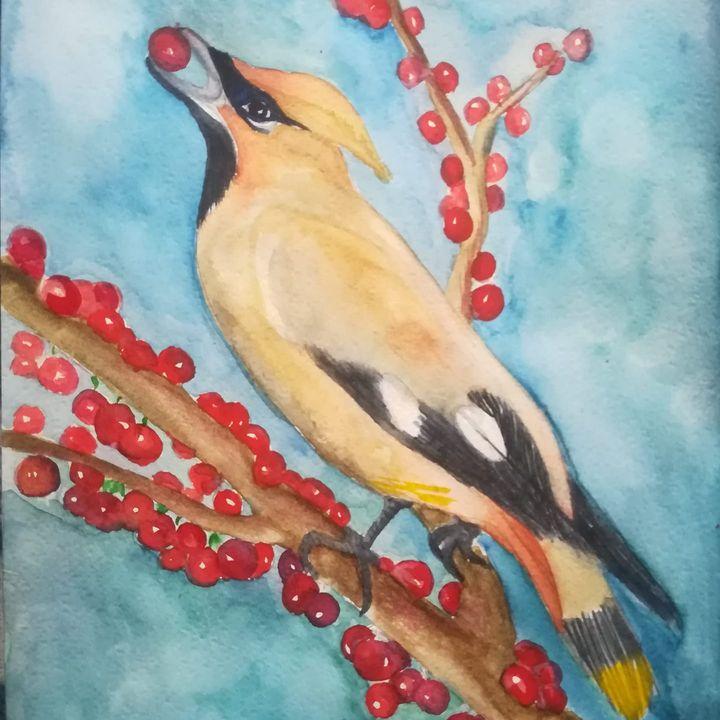 Bird - Aneliya Art