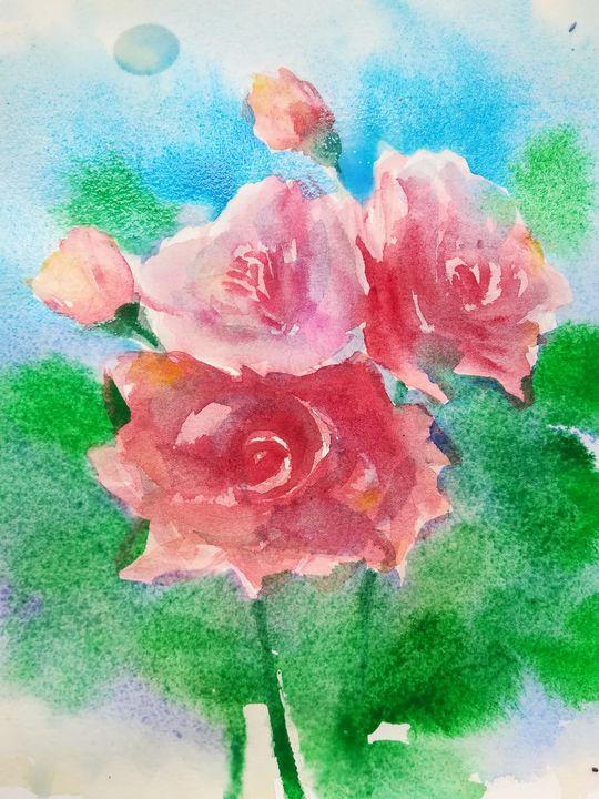 Roses - Aneliya Art
