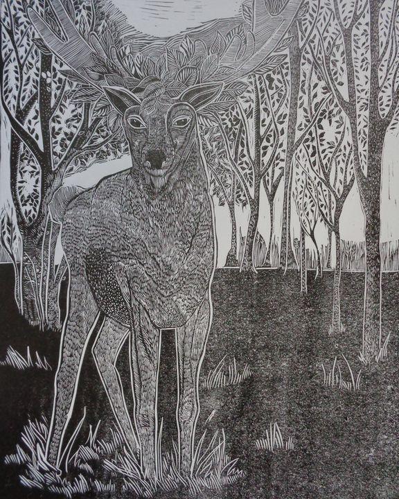 Deer - Aneliya Art