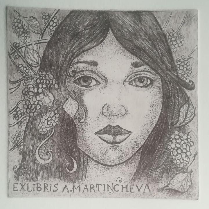 Love and wine - Aneliya Art