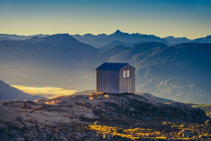 Dawn in the Mountains - Diego Llarrull