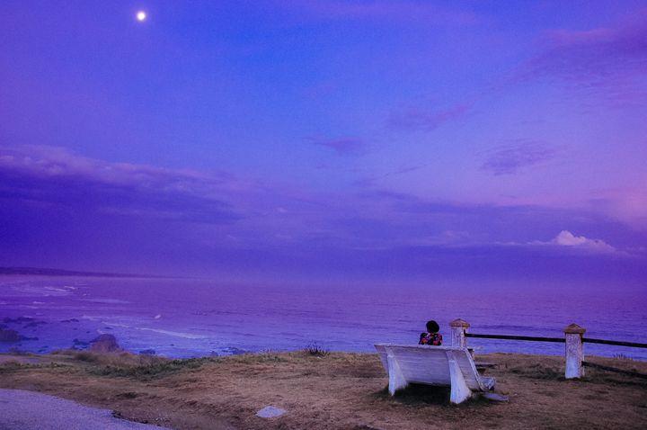 Dusk at the Beach - Diego Llarrull