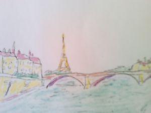 Eiffel Tower & River Seine