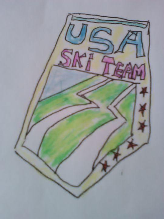 USA Ski Team - John Blandly Art