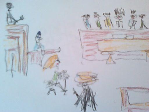 Jury - John Blandly Art