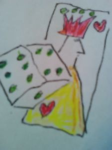 King of Hearts and Dice