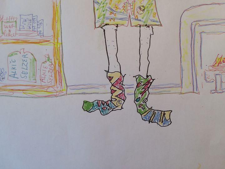 socks - John Blandly Art