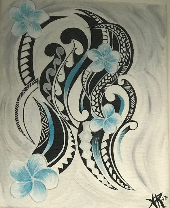 Flowing Tribal - Audrey Rosado