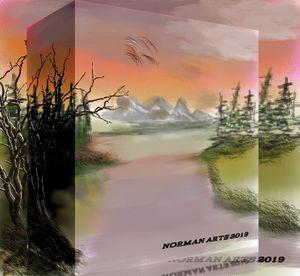 Boxed landscape