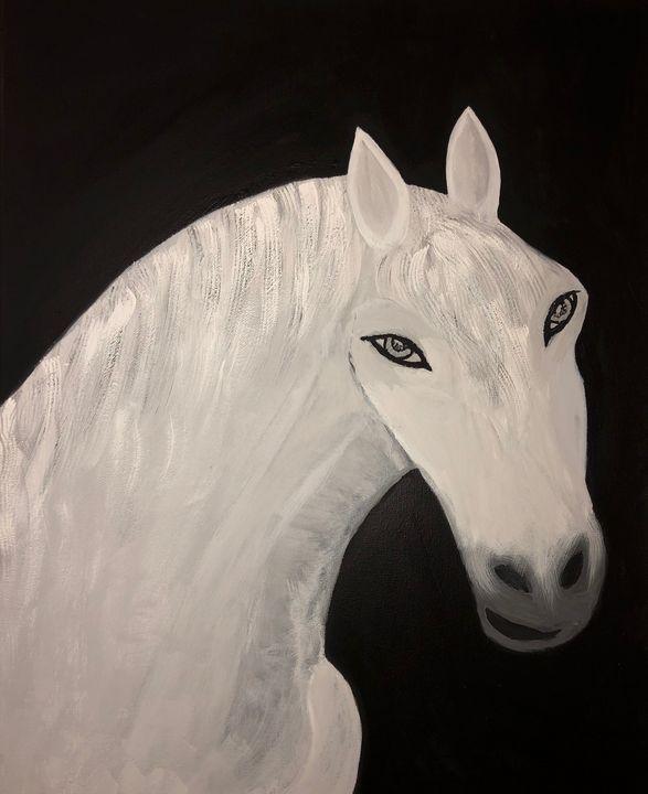 Survivor Horse - Lina Ksayer