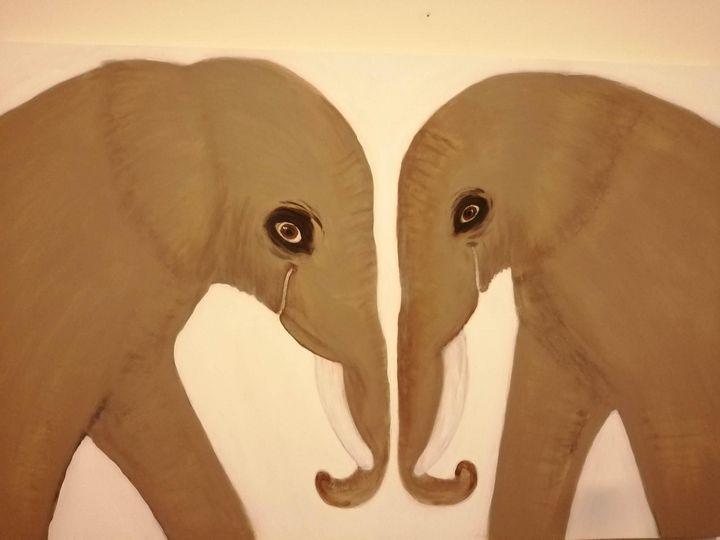 Elephants - Lina Ksayer