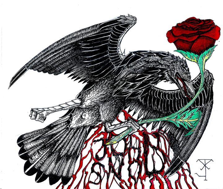 Dead crow - Badbadgerart