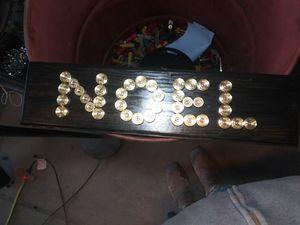 """Shotgun shell art """"Noel"""""""