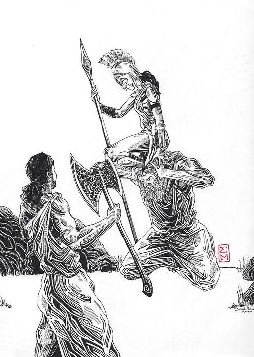 Birth of Athena - Suneesh