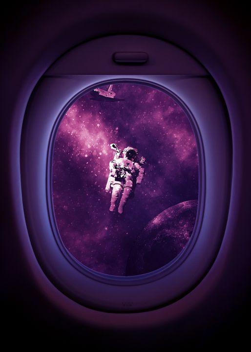 Astronaut Window - Gab Fernando