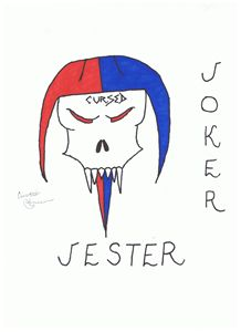 Cursed Jester Joker Card
