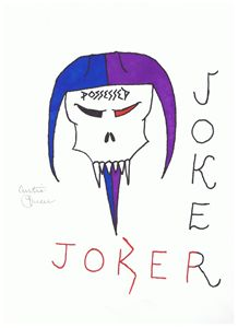 Possessed Jester Joker Card