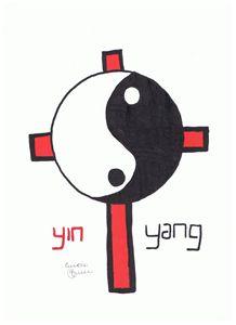 Yin Yang Crucifix