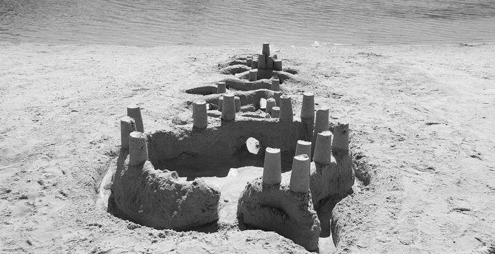 Sandcastle Fortress - Robert Lloyd-Evans