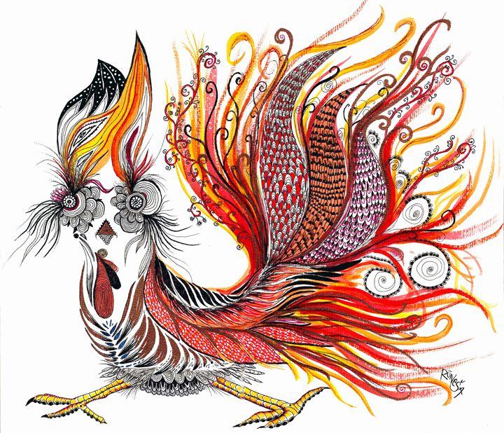 Dreamy Rooster - Rūneša