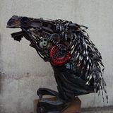 Horse Head, scrap metals and tyres