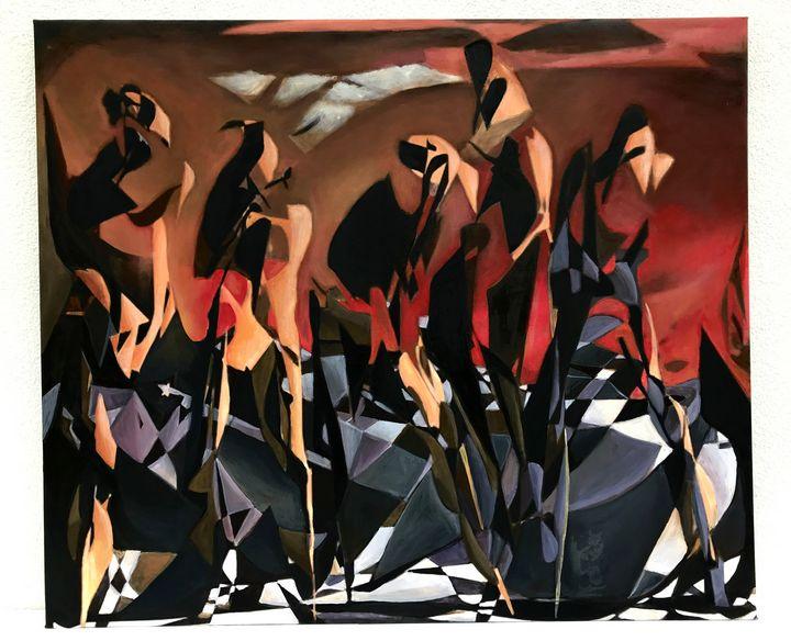 Australian Guernica - V&Y ART