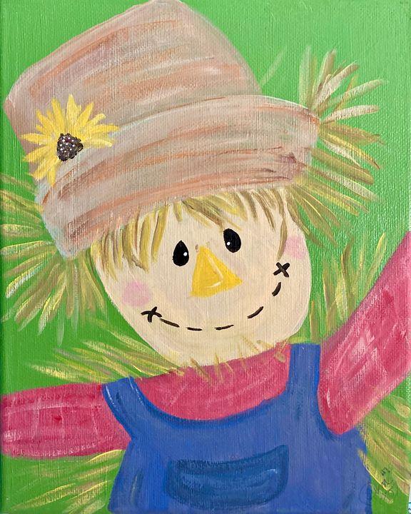 Scarecrow Sweetheart - PM Montgomery Studio