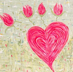 Flowers Are Love - PM Montgomery Studio