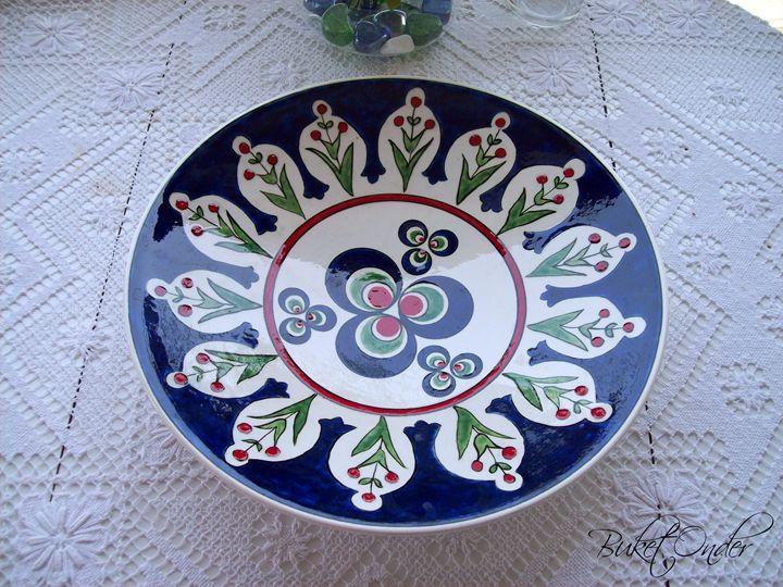 Ceramic plate - Buket Onder