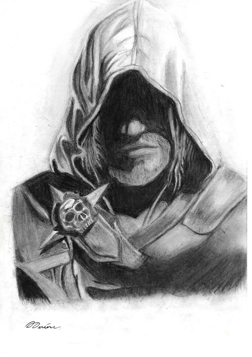 Assassin's creed 4 Edward Kenway - Devine Art