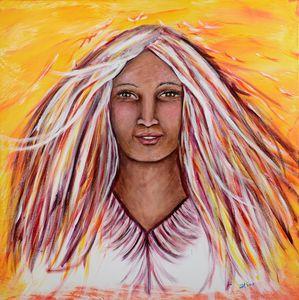 Woman of Fire - TNT Artspirations