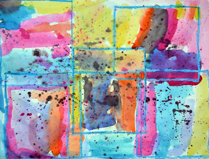 """Squares"" - C. Fay Fine Art"