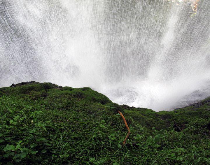 Behind the Falls - C. Fay Fine Art