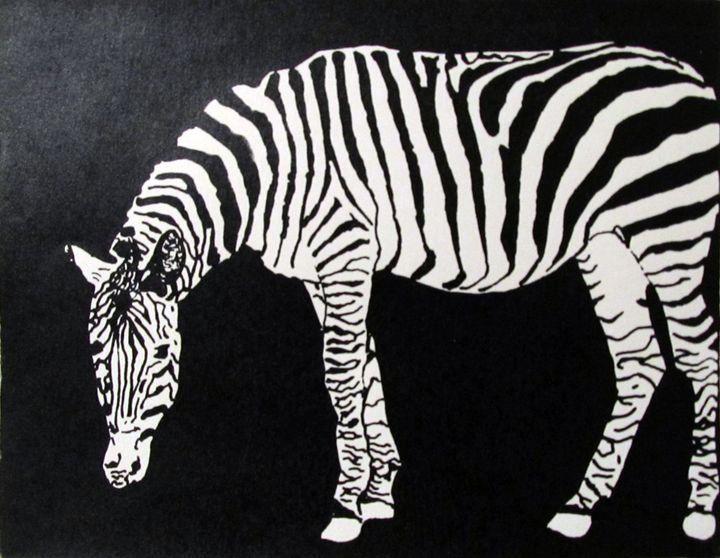 """Zebra Night"" - C. Fay Fine Art"