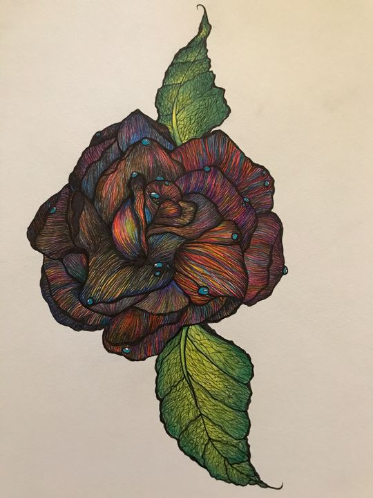 Nirvana Rose - Paatyn's Art